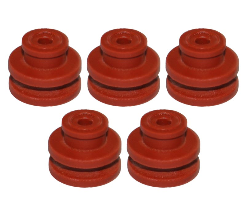 5x Seal Dichtung 3,45mm-4,30 zu VW Steckverbinder 1K0971955 1K0 971 955 Elektrik