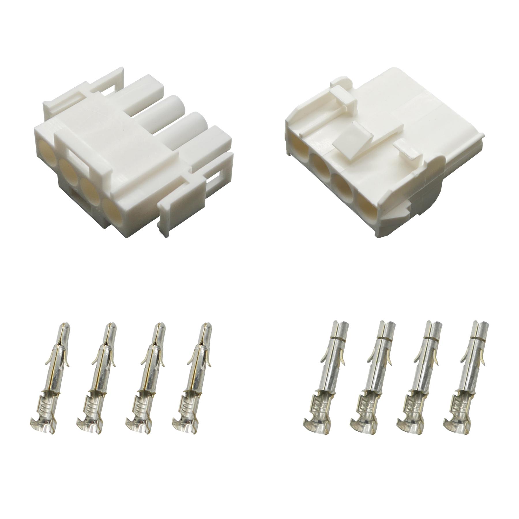 AMP Superseal Set Steckverbinder 2-polig H07V-K 1,50mm² Stecker Kabel Elektrik