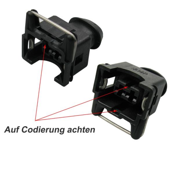 MCP Reparatursatz Stecker ungedichtet für VW Steckverbinder 2,8mm JPT 1,00²
